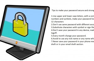 Secure your password